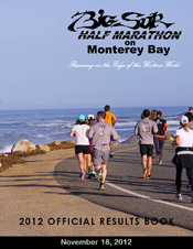 2012 Half Marathon Official Results Book