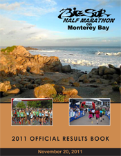 2011 Half Marathon Official Results Book