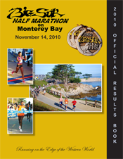 2010 Official Half Marathon Results Book