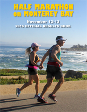 2016 Half Marathon Official Results Book