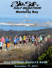 2013 Official Half Marathon Results Book