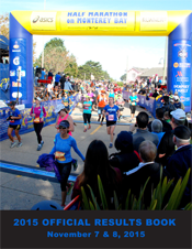 2015 Official Half Marathon Results Book